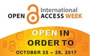 Open Acces Week 2017